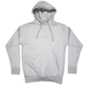 Social Outcast Hoodie in Oatmeal and Pink/Blue