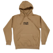 Load image into Gallery viewer, Social Outcast Hoodie in Khaki and Black