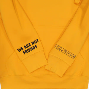 Social Reject Hoodie in Yellow and Black