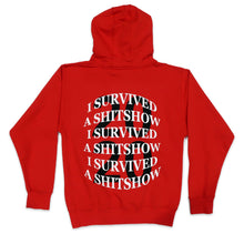 Load image into Gallery viewer, Survived 2020 Hoodie in Red
