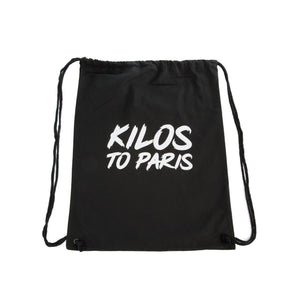 Kilos To Paris Hoodie in Black and White