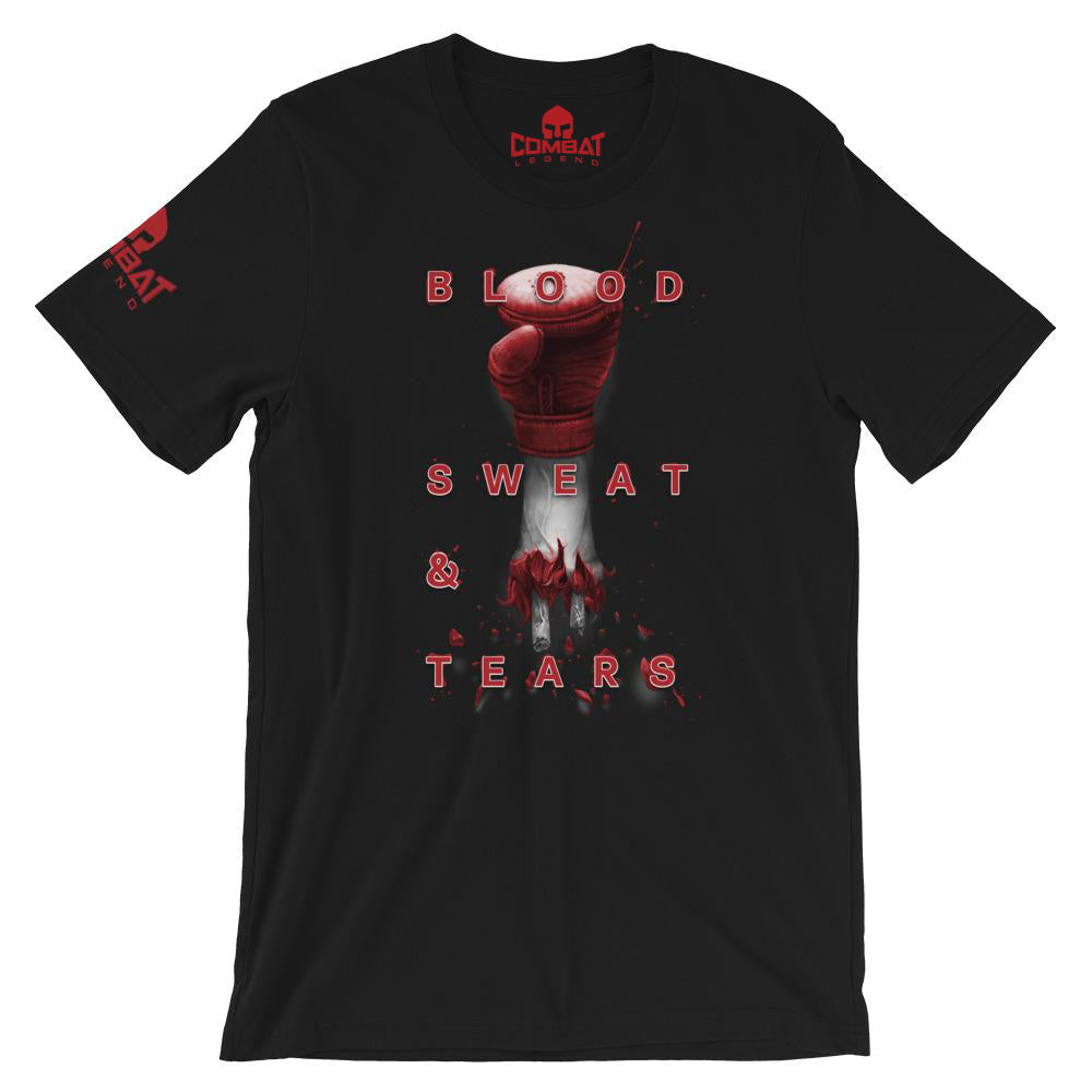 Combat Legend Blood Sweat & Tears T-Shirt 1