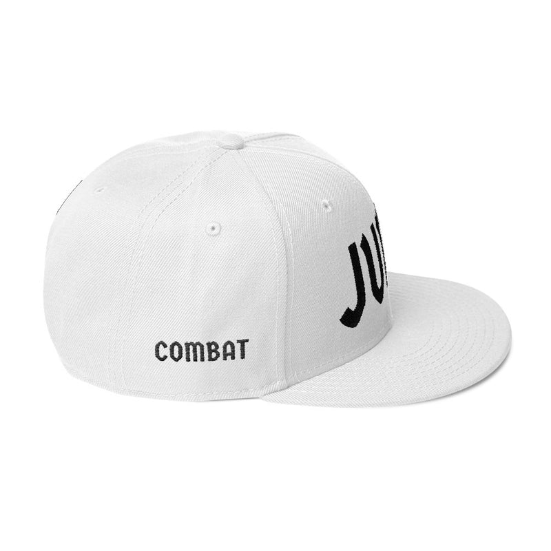 Combat Legend Judo Black on White Snapback 2