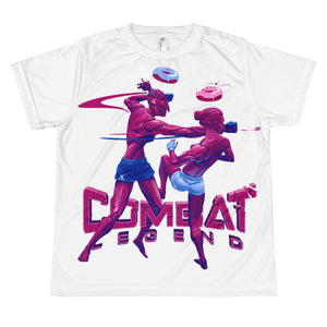 Combat Legend Ladies Fight 2 Youth T-Shirt