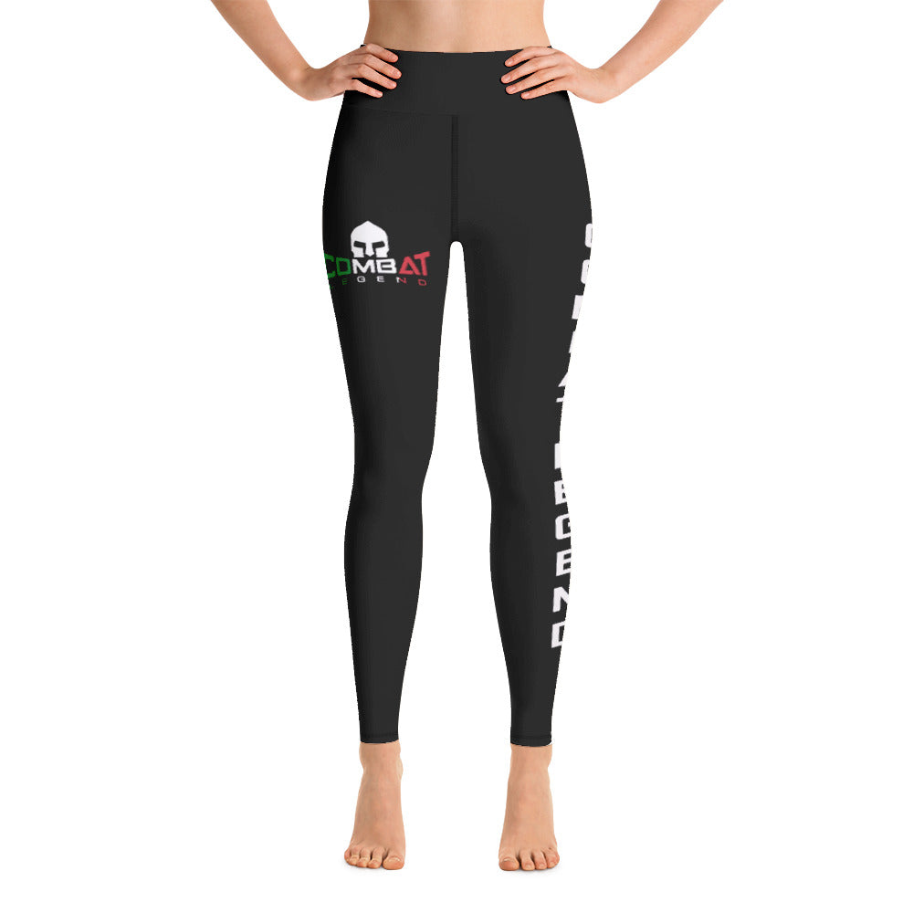 Combat Legend Black Italy High Rise Leggings