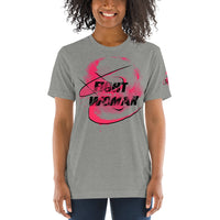Combat Legend Fight Like A Woman Tri-Blend T-Shirt