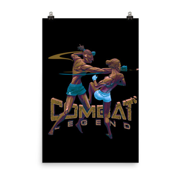 Combat Legend Ladies Championship Poster