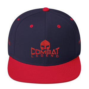 Combat Legend Boricua Red on Blue Snapback 1