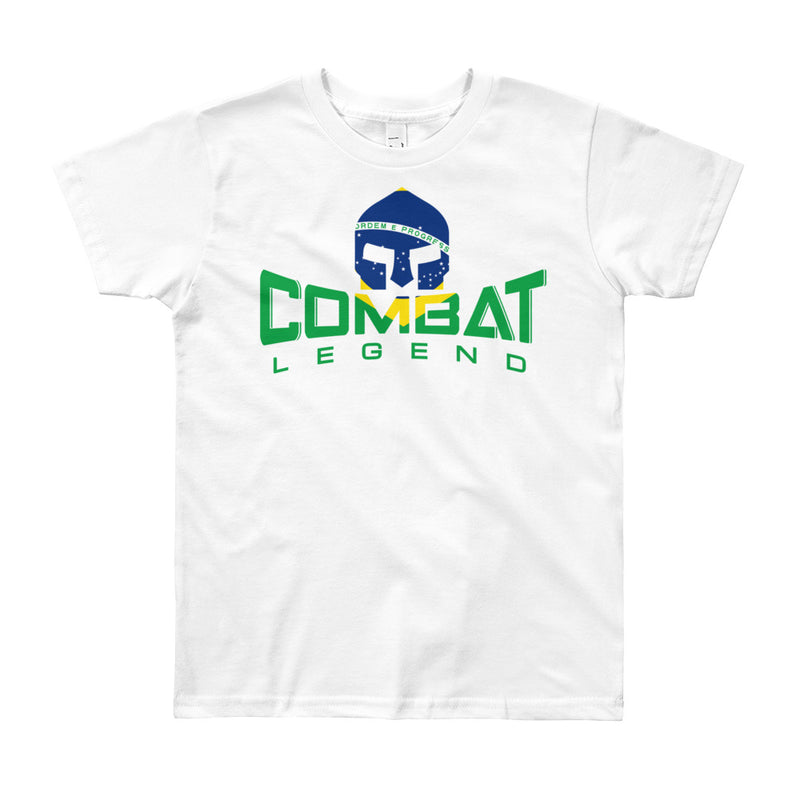 Combat Legend Youth Brazil Logo T-Shirt