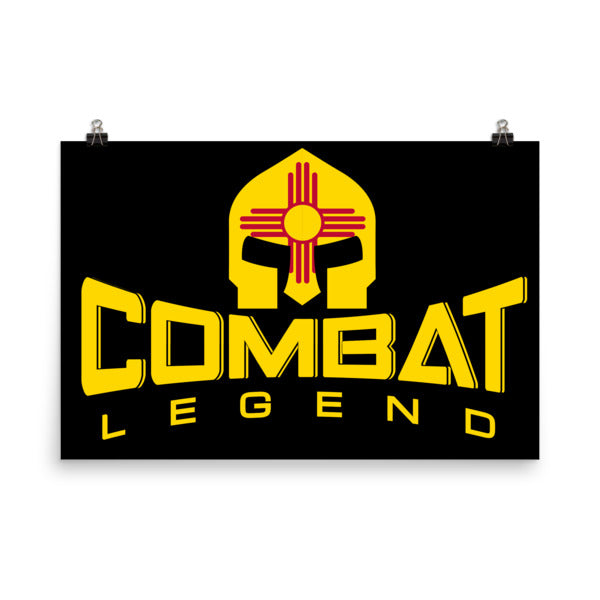 Combat Legend New Mexico Poster