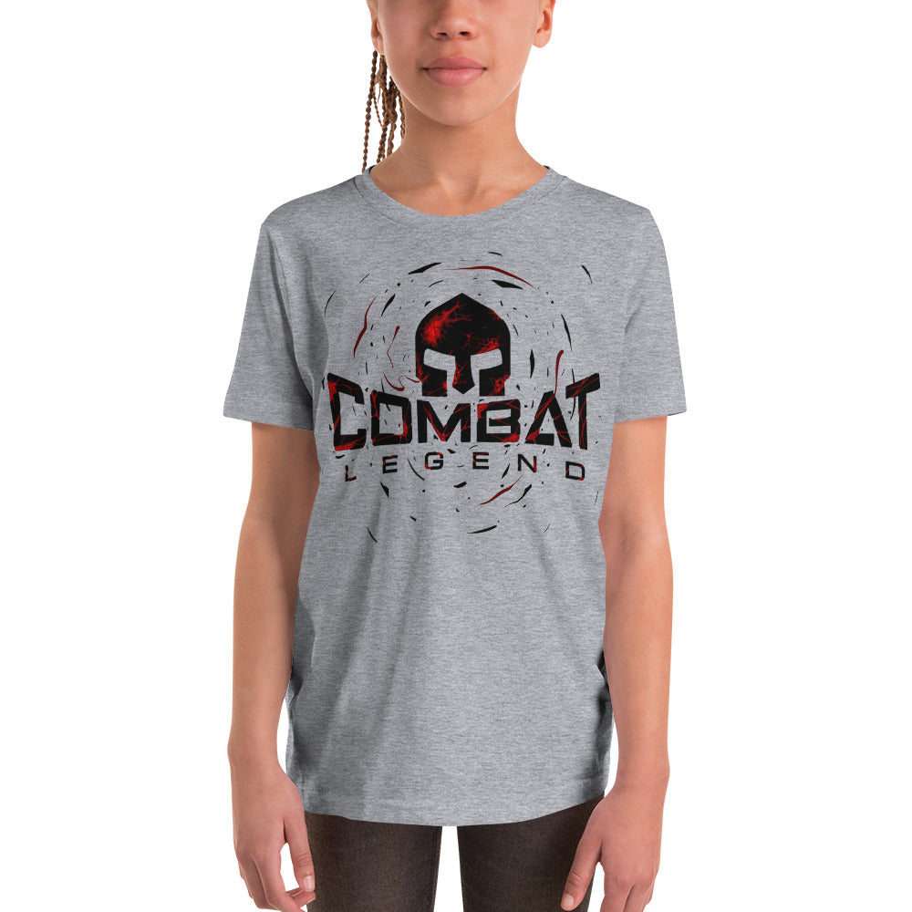 Combat Legend Red Blast Logo Youth T-Shirt