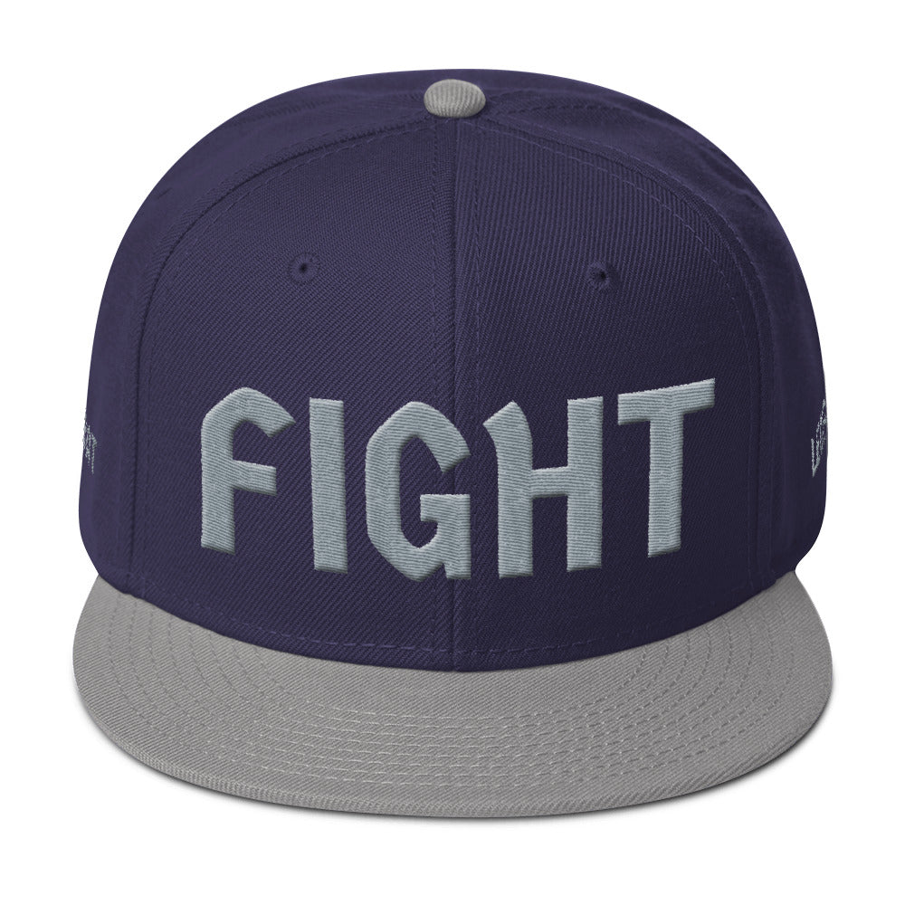 Combat Legend Fight Grey Mix 3D Puff Snapback 2