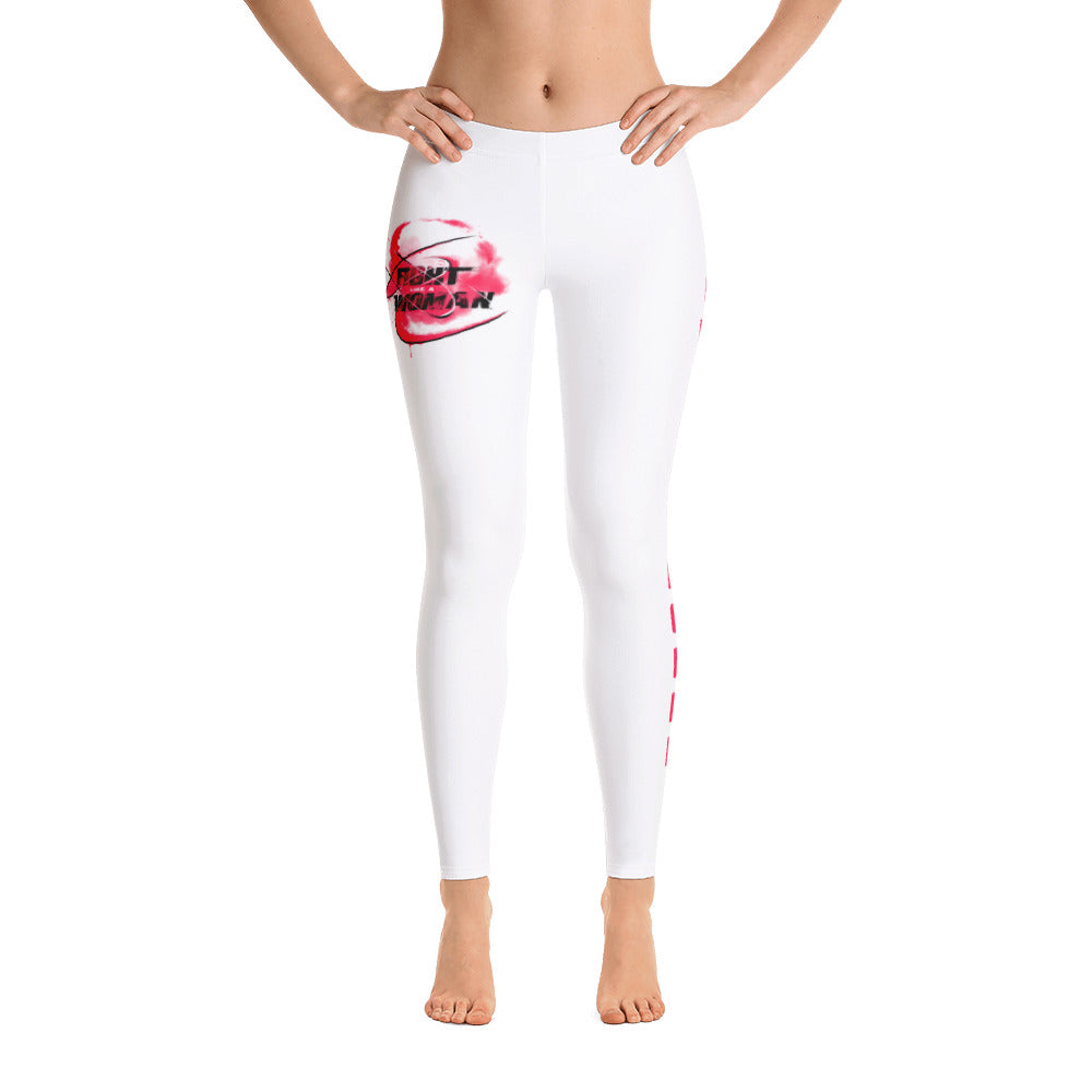 Combat Legend Fight Like A Woman Low Rise Leggings