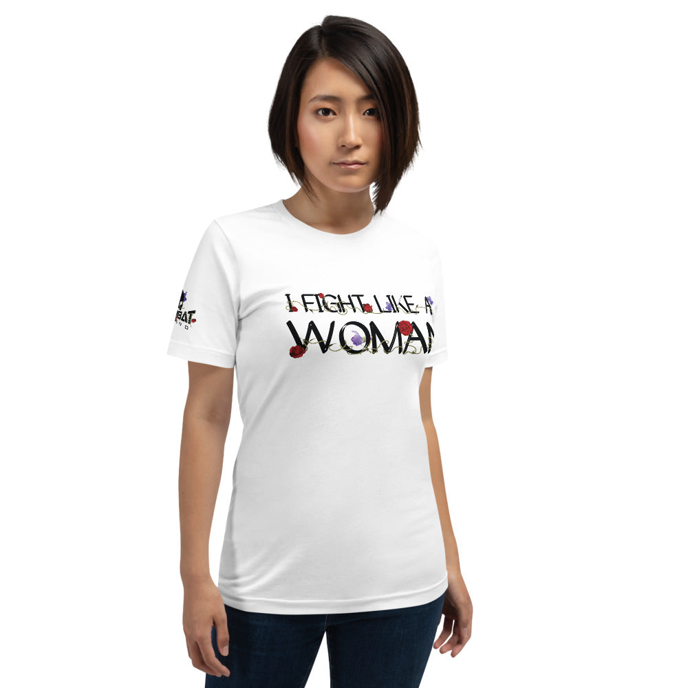 Combat Legend I Fight Like A Woman 3 T-Shirt