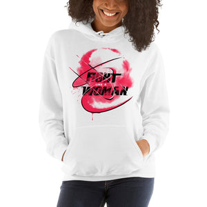 Combat Legend Fight Like A Woman Hoodie