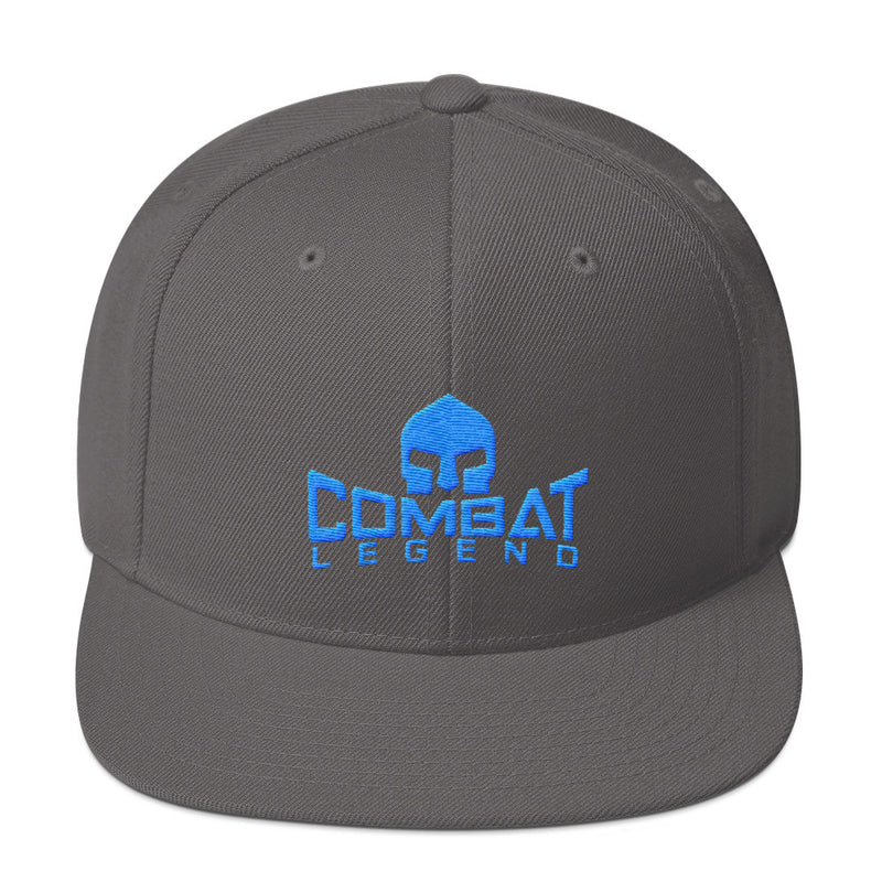 Combat Legend Teal on Grey Snapback 1