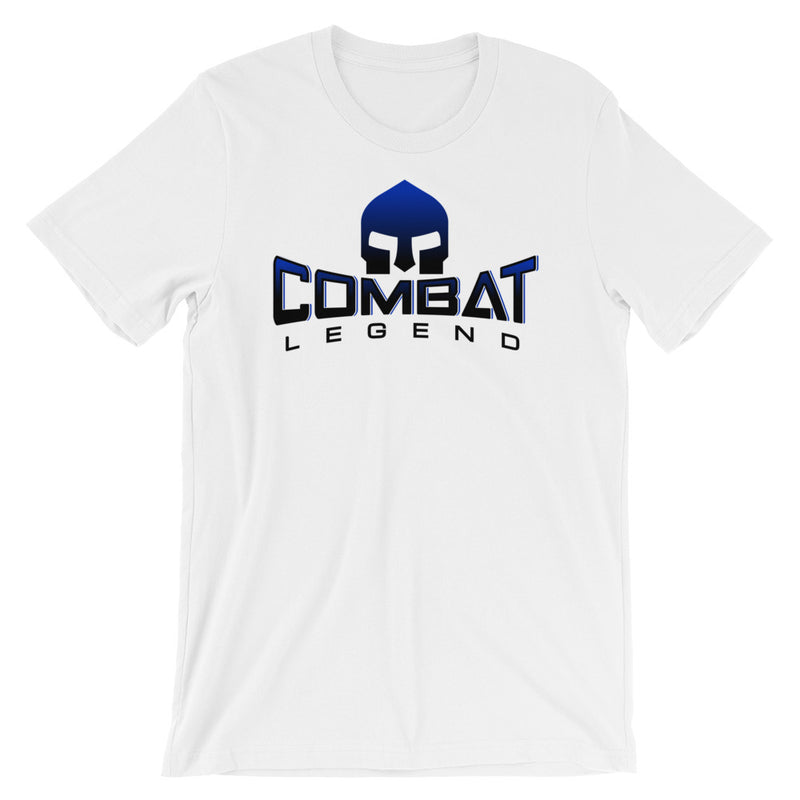 Combat Legend Blue and Black Logo Original T-Shirt