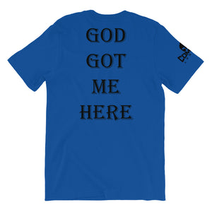 Combat Legend God Got Me Here T-Shirt