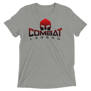 Combat Legend Red and Black Logo Original T-Shirt