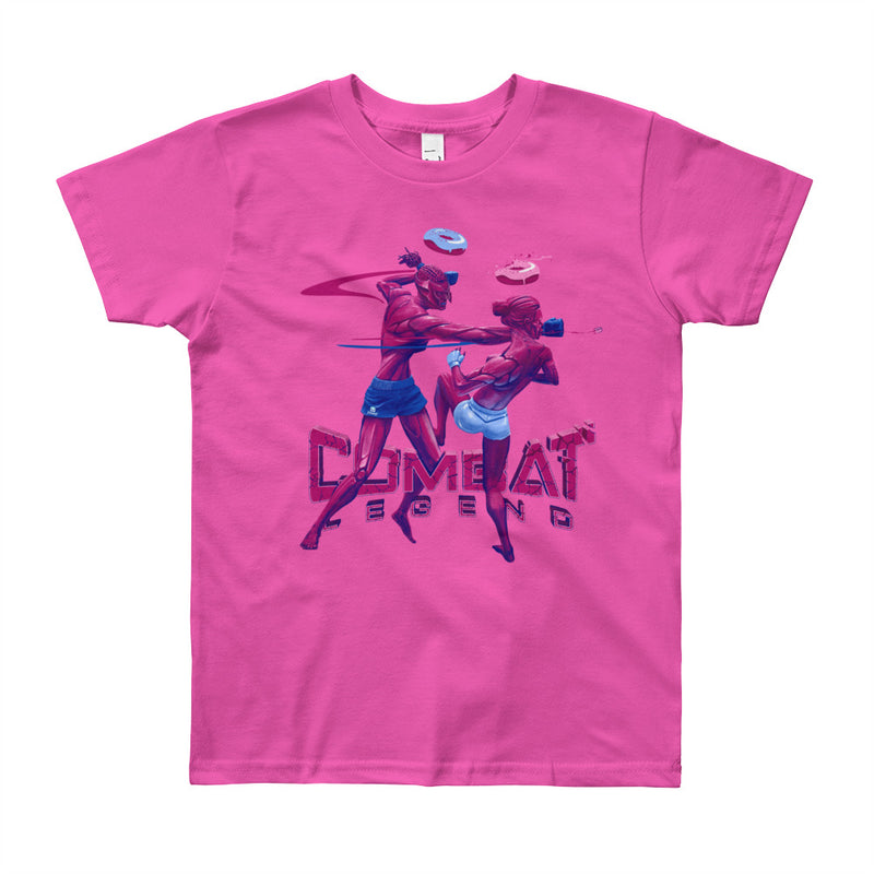 Combat Legend Ladies Fight 2 Youth Girls T-Shirt