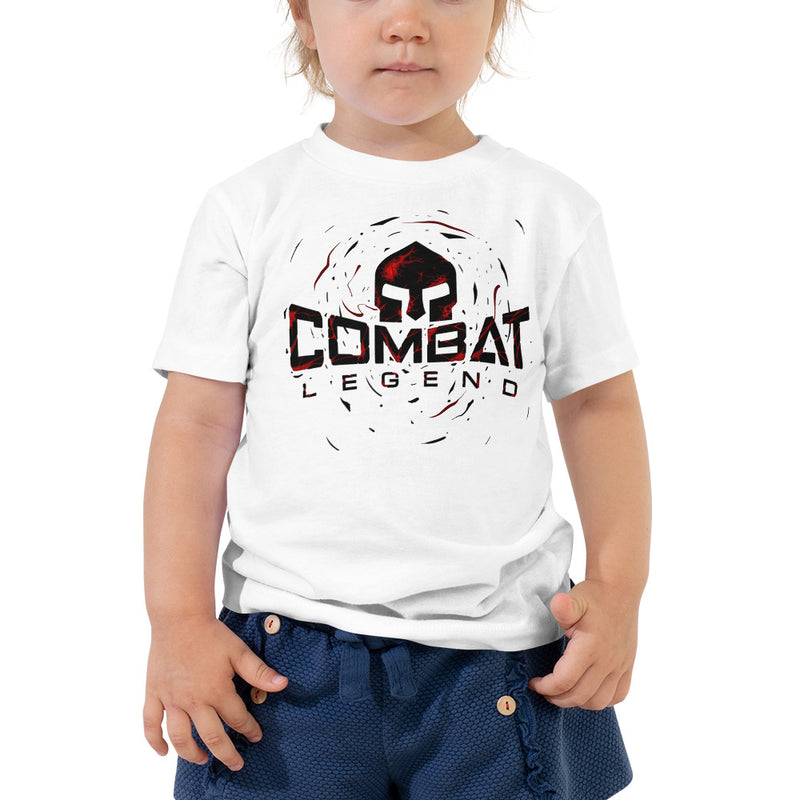 Combat Legend Red Blast Logo Toddler T-Shirt