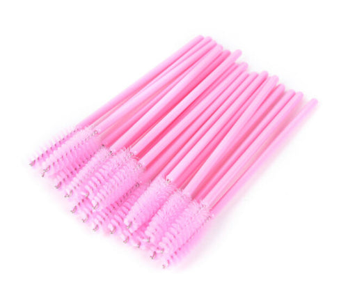 Disposable Pink Mascara Wand 50 Pack