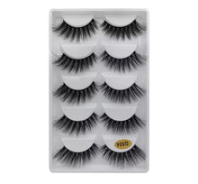 Load image into Gallery viewer, 5 pack 3D strip lashes