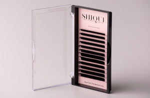 Individual Silk Lash Trays 0.20 Mixed