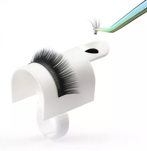 Eyelash Extension Pallet Holder with lash glue ring holder and adhesive holder