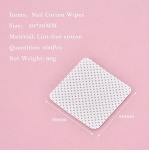 400pcs Lint-Free wipes - nail & beauty services