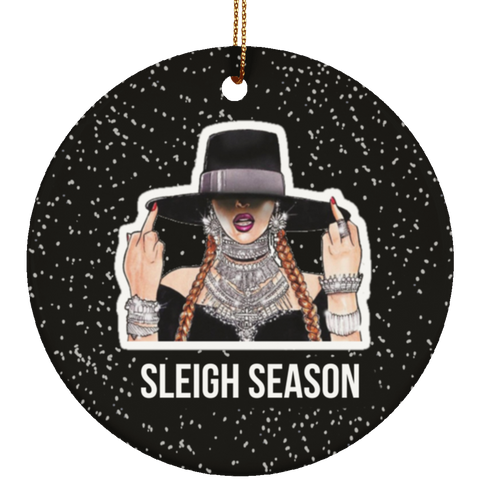 Sleigh Season Ornament, Housewares - Shirts Be Like