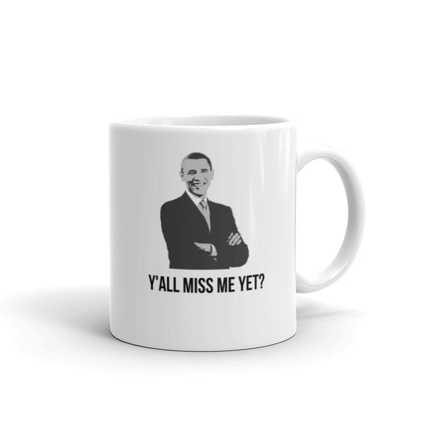 We miss you Obama, Coffee Mug - Shirts Be Like