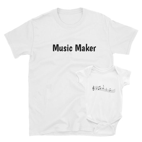 Music Maker, T-Shirt - Shirts Be Like