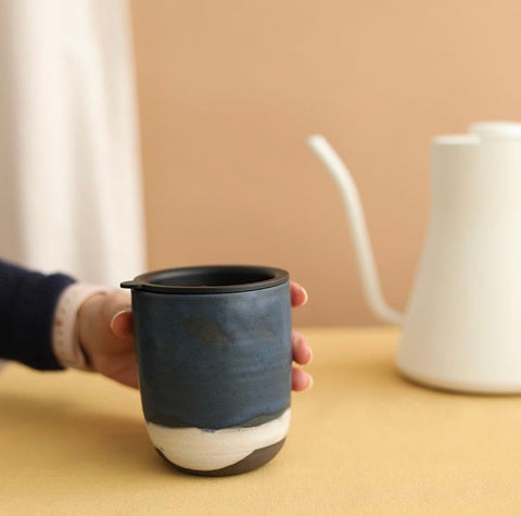Handmade tea mug from Handheld Handmade