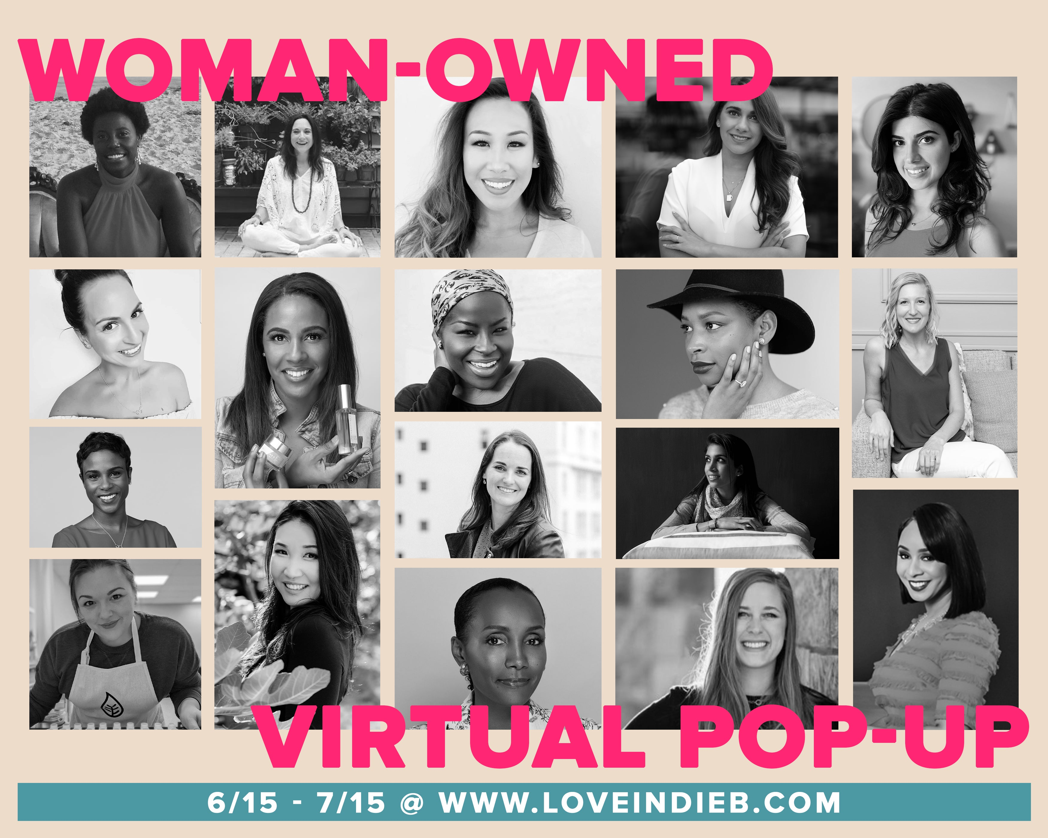 graphic with women's photos