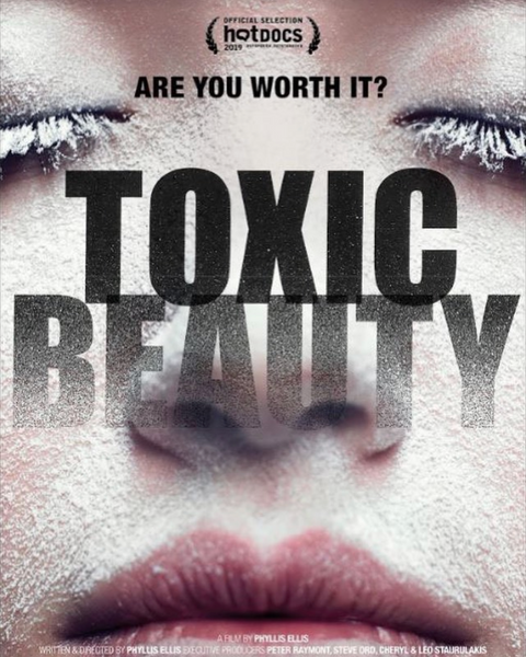 Toxic beauty documentary film cover