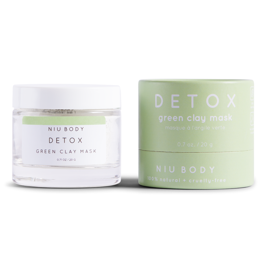 NIU BODY - Detox Green Clay Mask