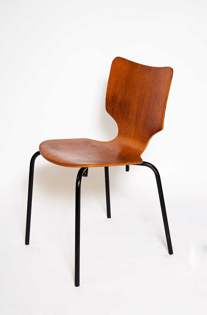 Danish 1950's molded ply chair
