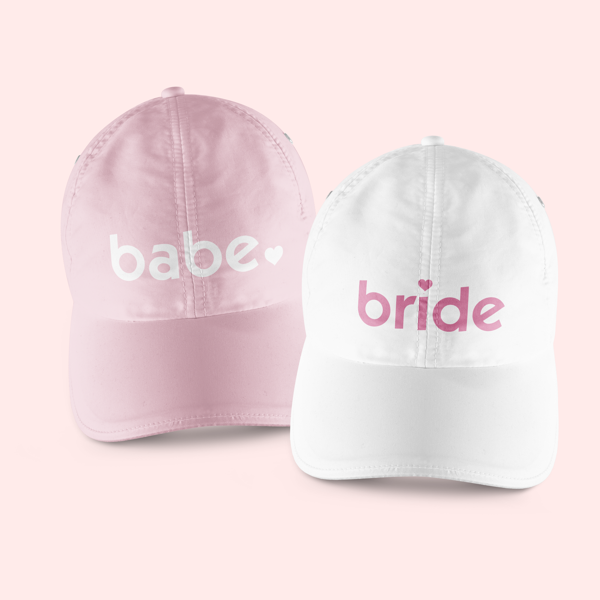 Bride & Babe Baseball Hat