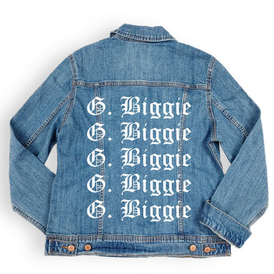 Biggie & Smalls Denim Jacket