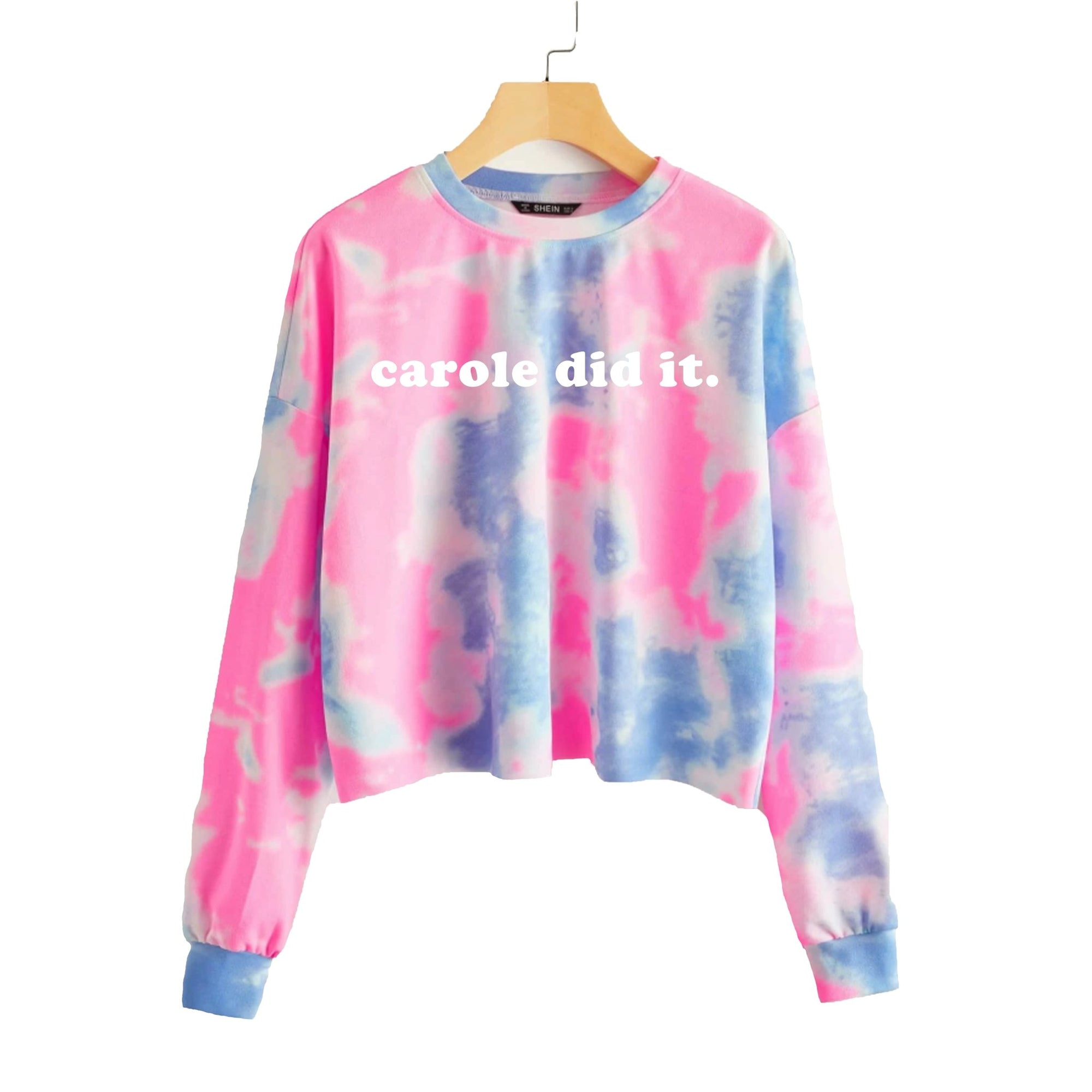 Carole Did It Sweatshirt - Sprinkled With Pink #bachelorette #custom #gifts