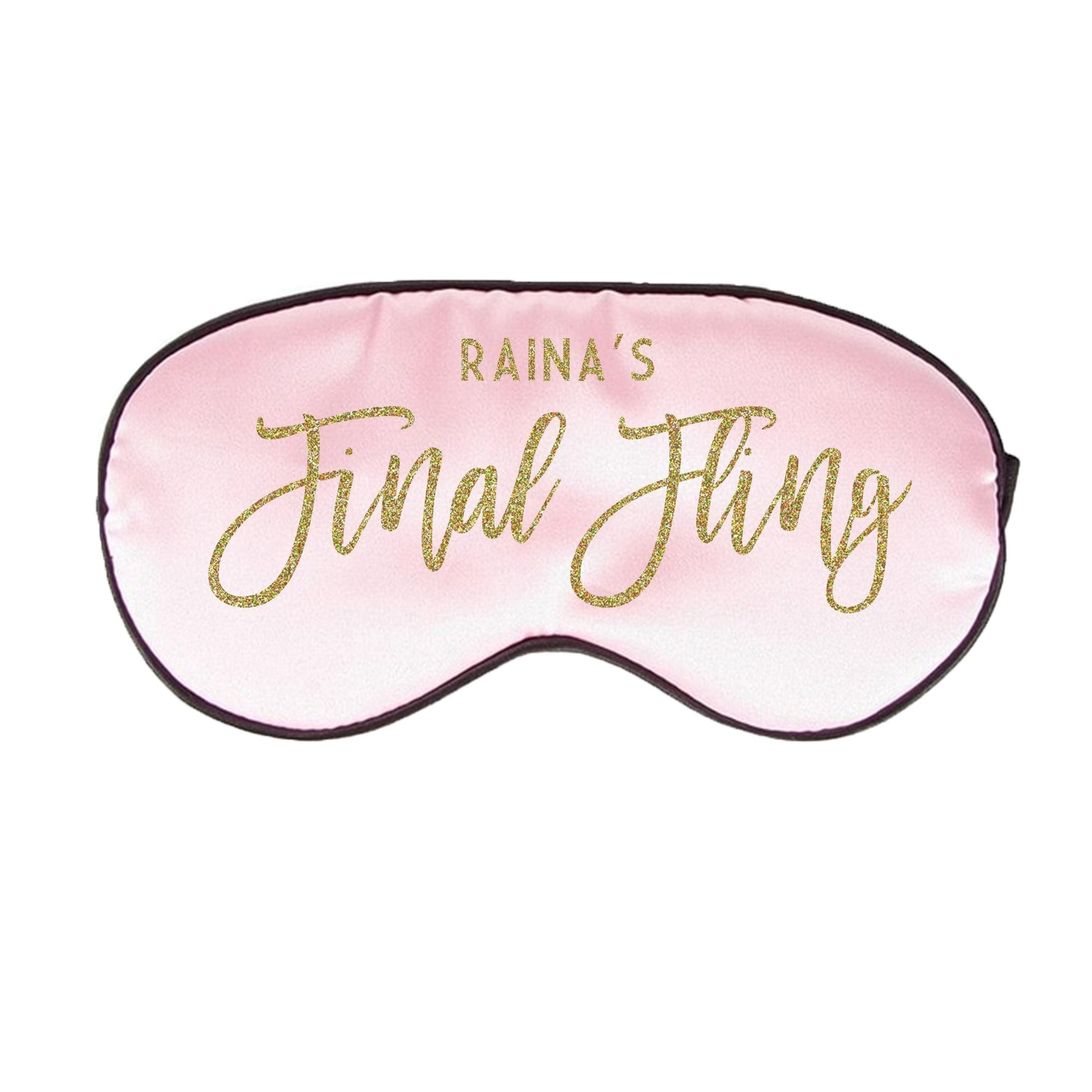 Custom Final Fling Sleep Mask