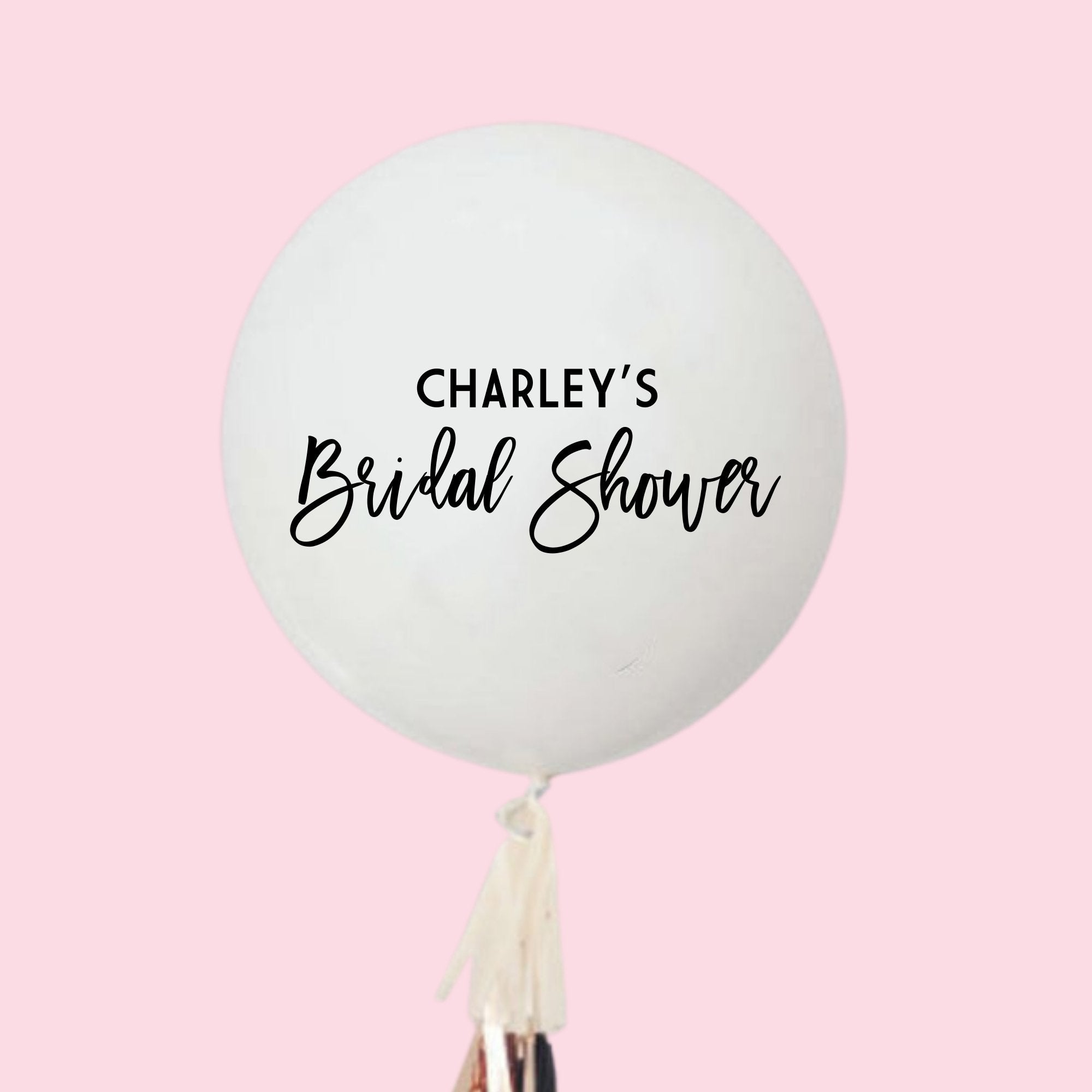 Custom Jumbo Balloon - Bridal Shower