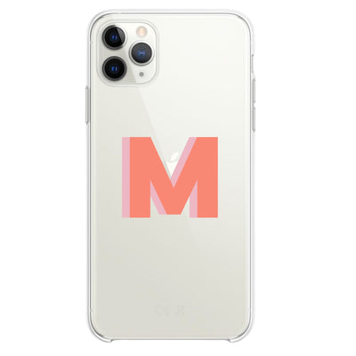 Custom Monogram Phone Case - Sprinkled With Pink #bachelorette #custom #gifts