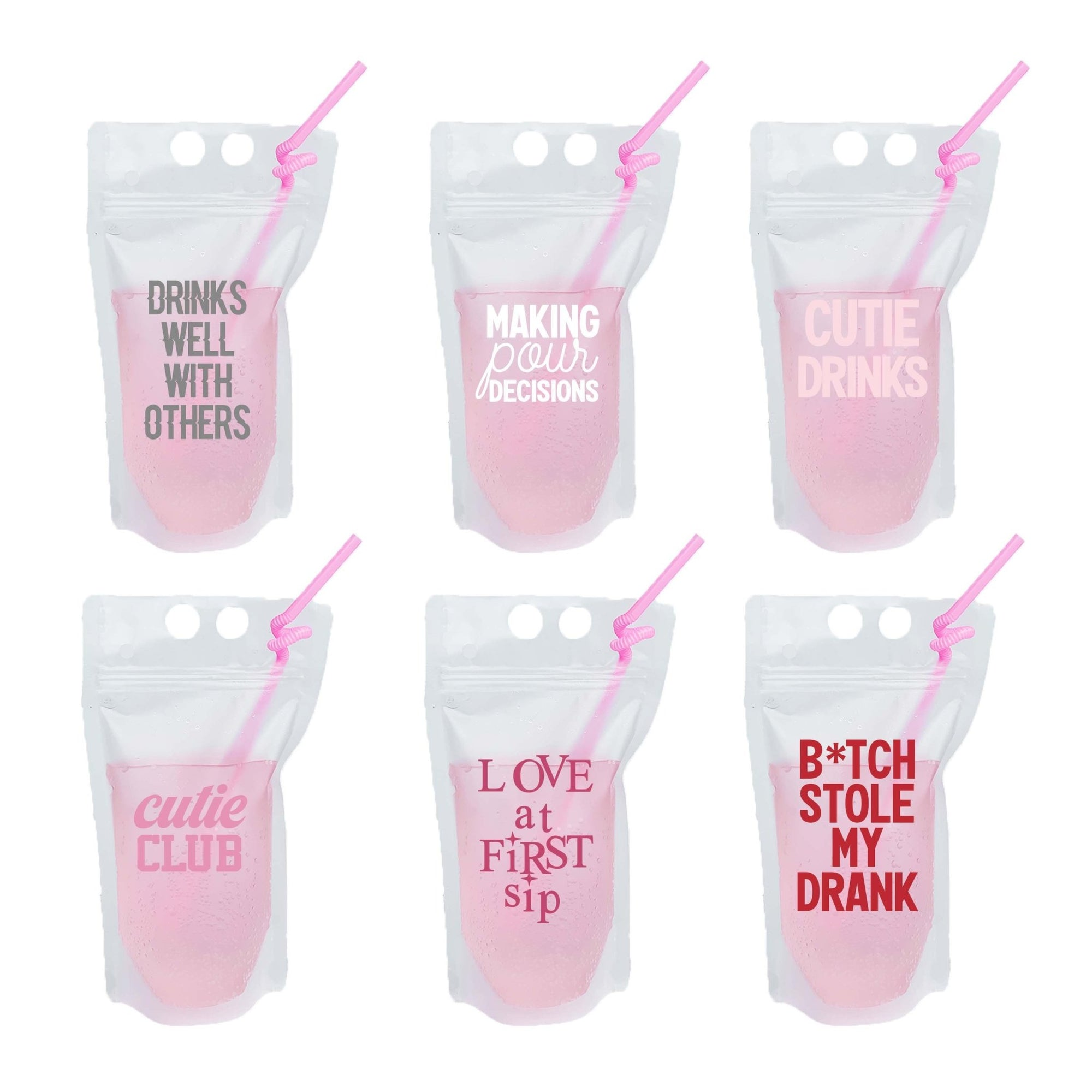 Cutie Drinks X SWP Party Pouch Set!
