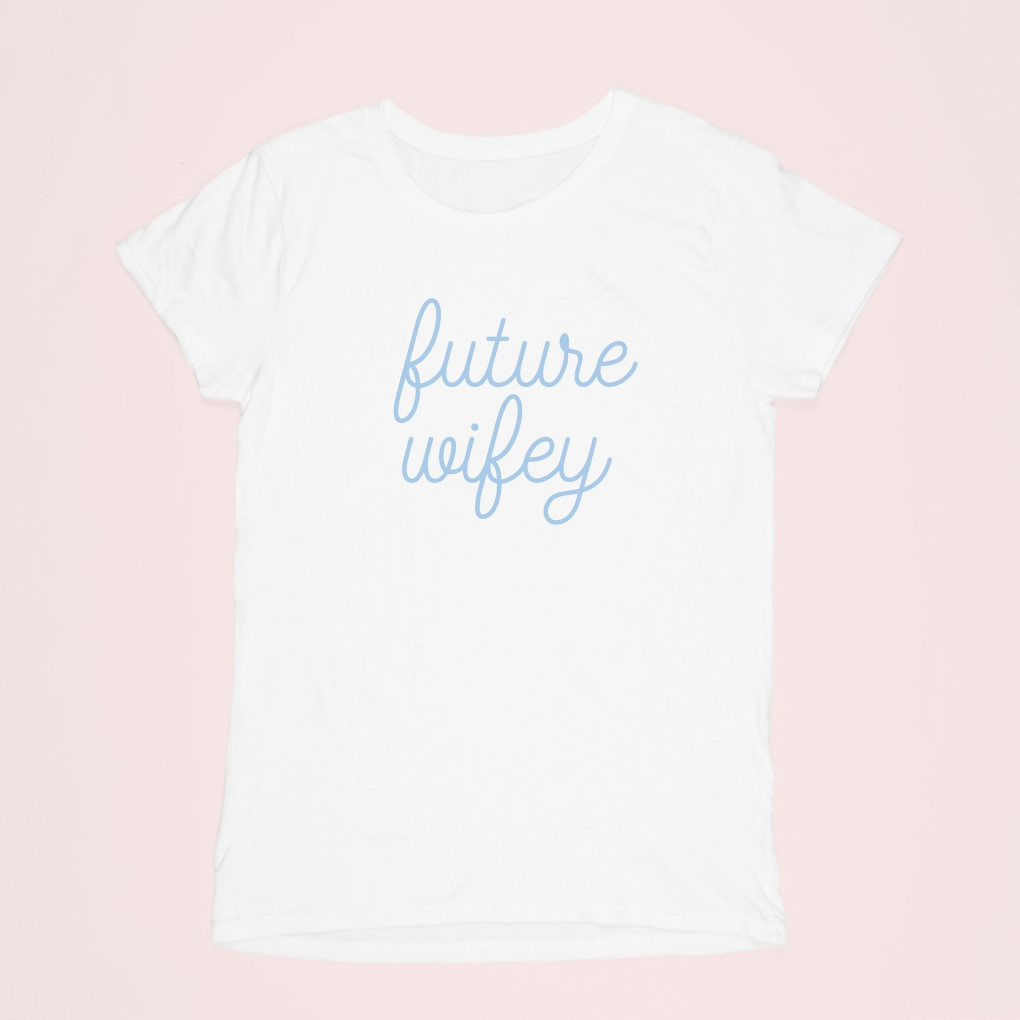 Future Wifey Shirt - Sprinkled With Pink #bachelorette #custom #gifts