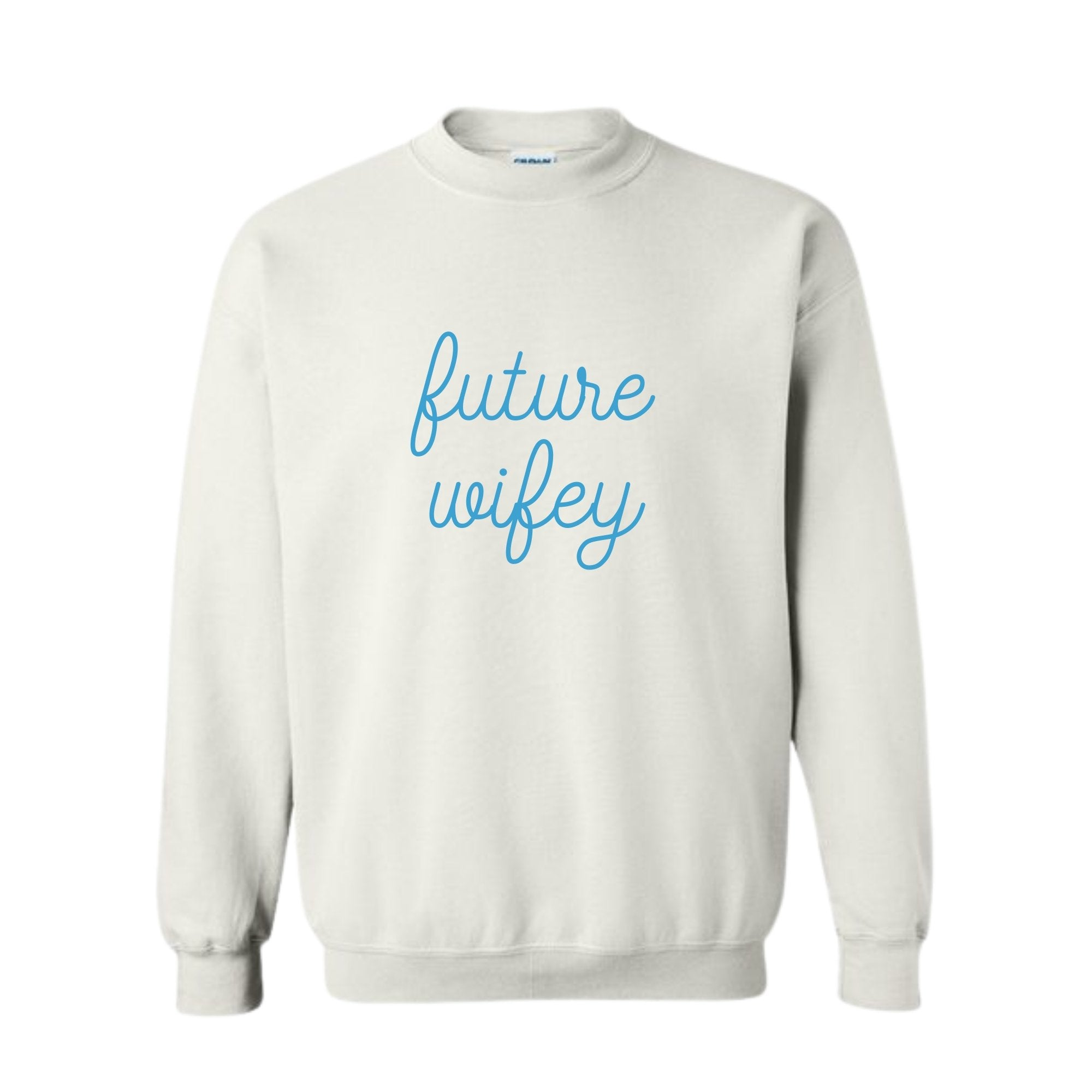 Future Wifey Sweatshirt - Sprinkled With Pink #bachelorette #custom #gifts