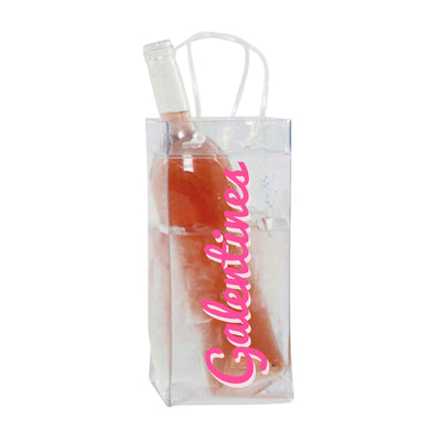Galentines Wine Bag - Sprinkled With Pink #bachelorette #custom #gifts