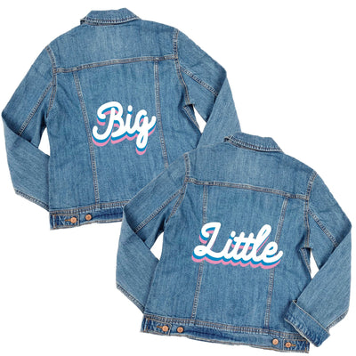 Groovy Big Little Denim Jacket