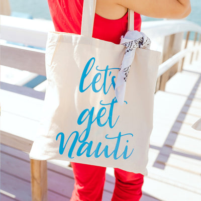 Let's Get Nauti - Sprinkled With Pink #bachelorette #custom #gifts